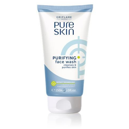 Pure Skin Purifying Face Wash